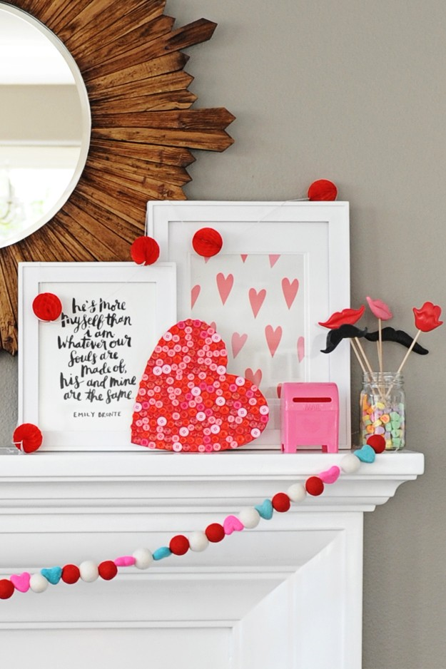 cute and easy DIY Valentine craft