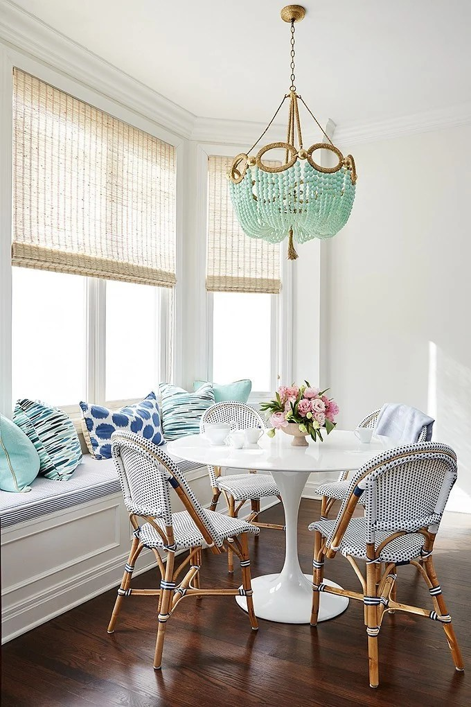 interior design using blue