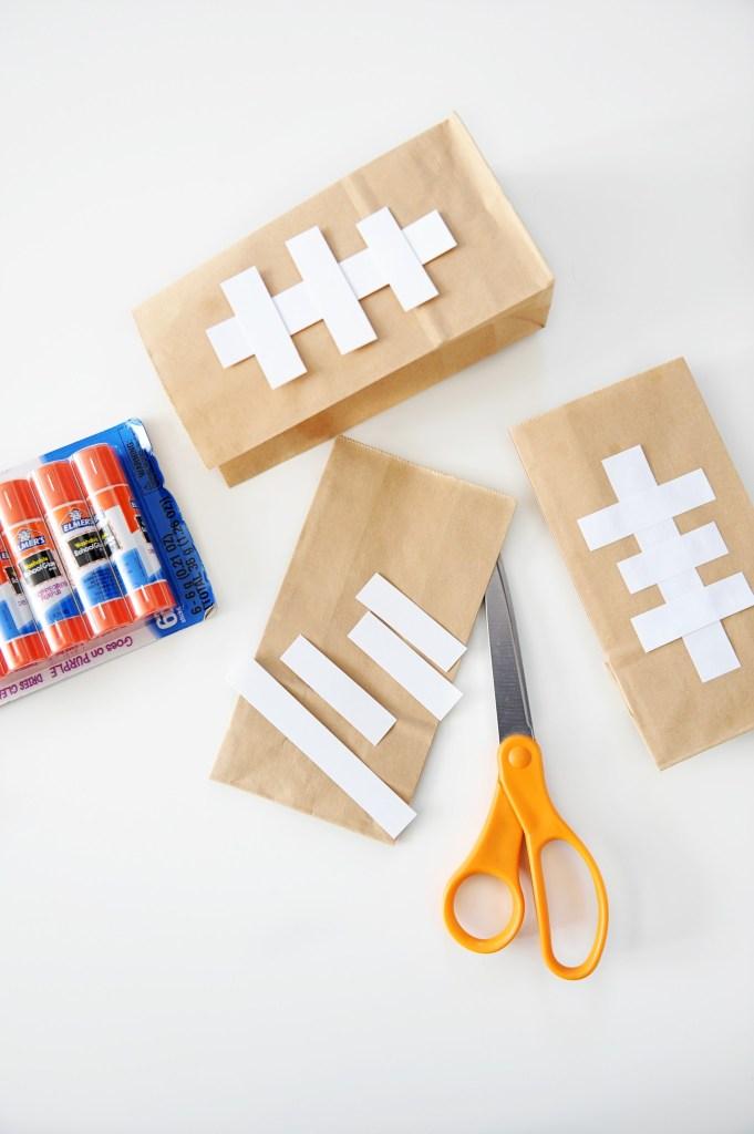 DIY Football Snack Bags