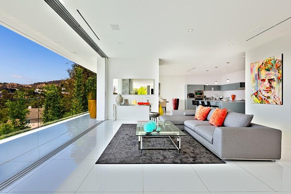 hollywood hills modern mansion design