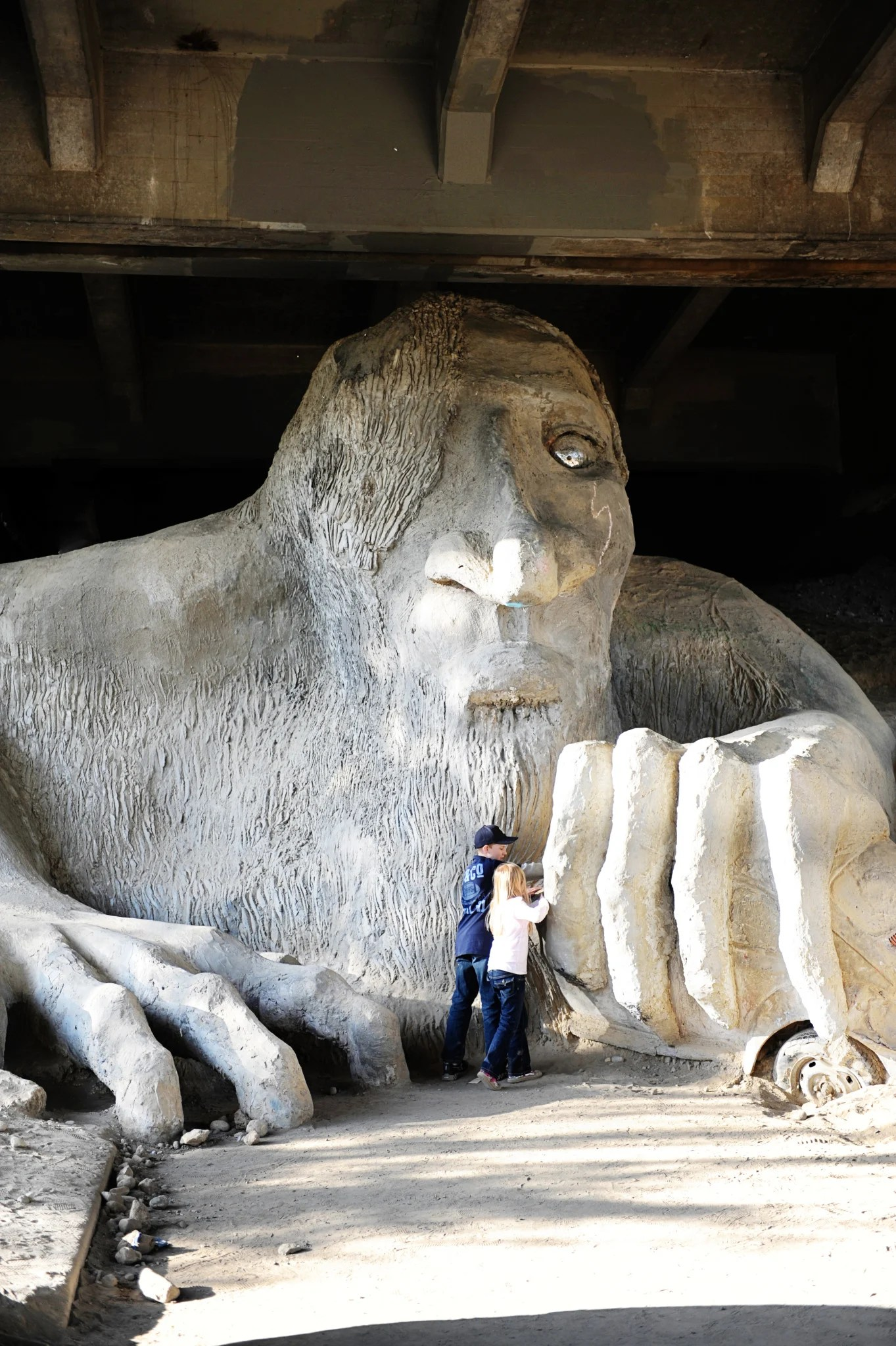 The Seattle Fremont Troll : Things to do in Seattle