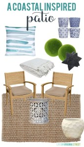 A coastal inspired patio design board via life on virginia street 585x1024