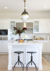 The White Kitchen : My Thoughts on the All White Interior Design Trend