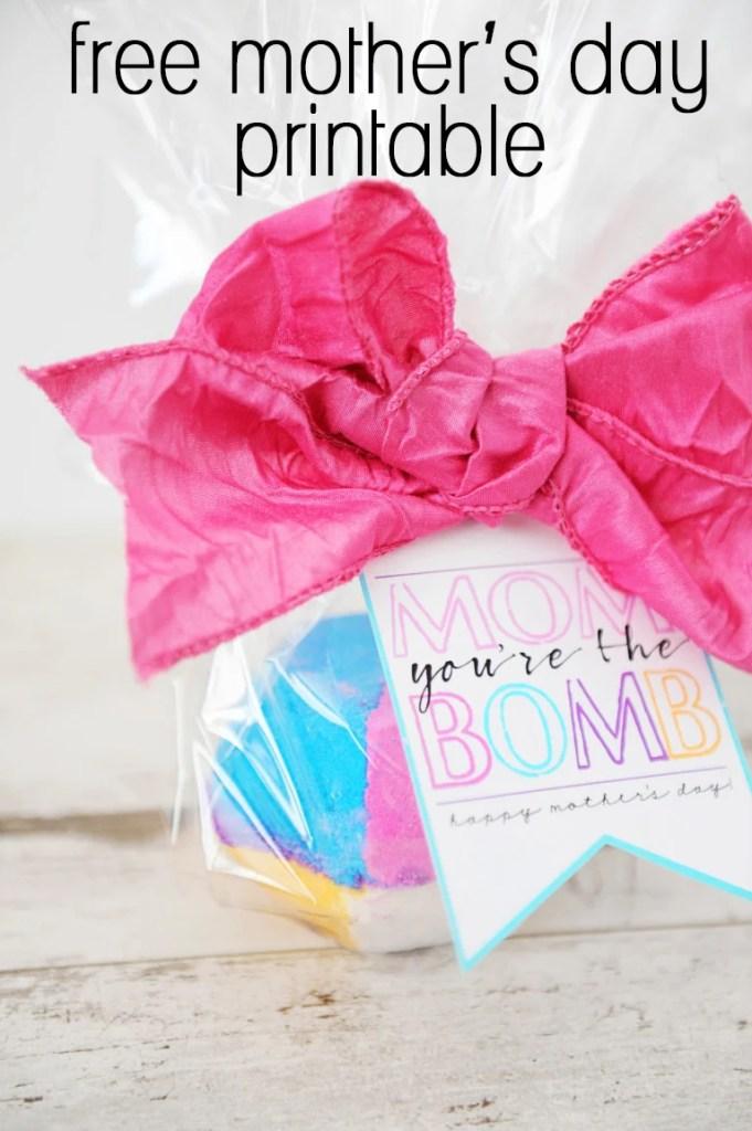 bath bomb gift