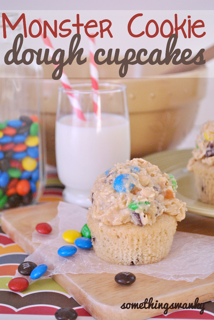 monster cookie dough cupcake frosting