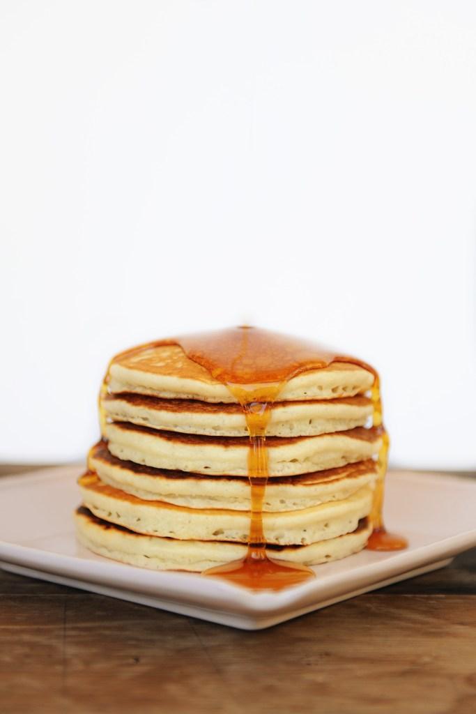 pancake recipe best pancake recipe pancakes from scratch Pink Peppermint Design