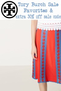 Tory Burch Sale and Extra 30% off Sale Code