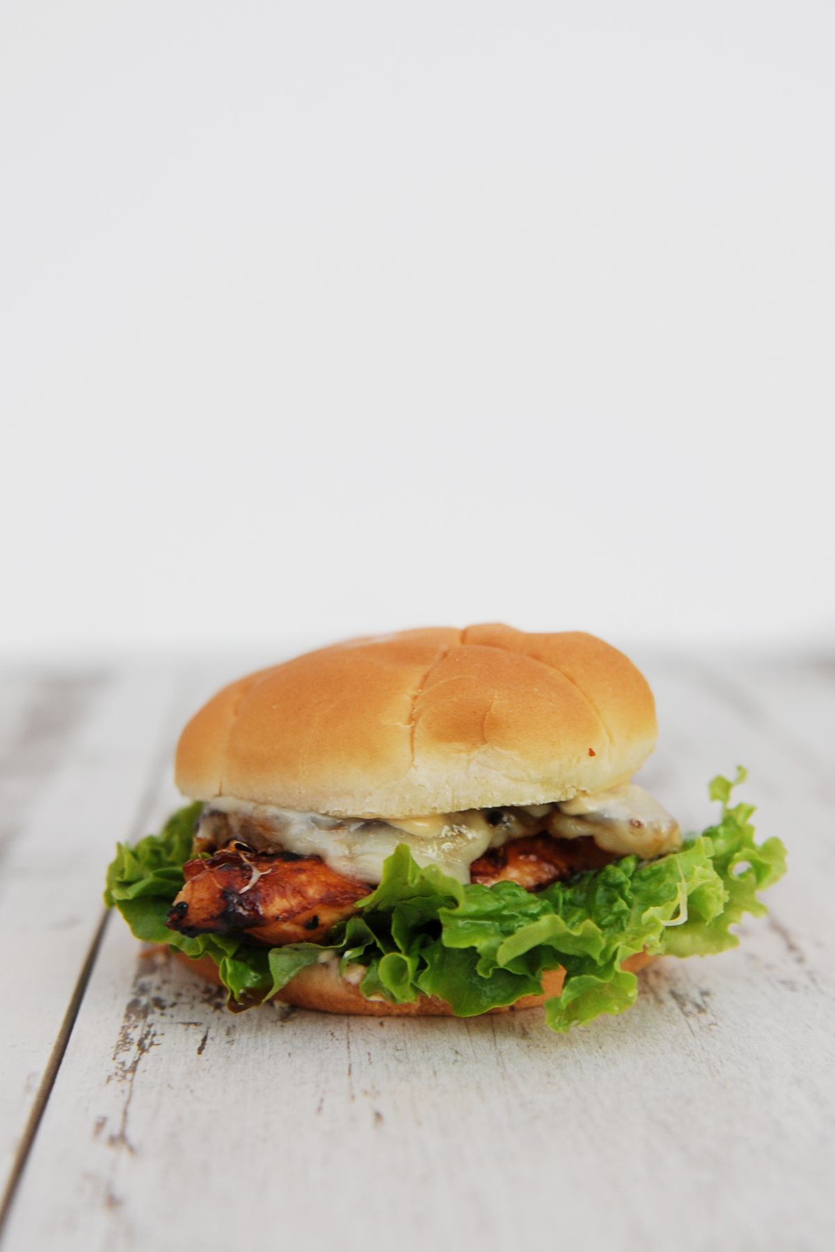 Chicken Teriyaki and Grilled Pineapple Sandwich Recipe