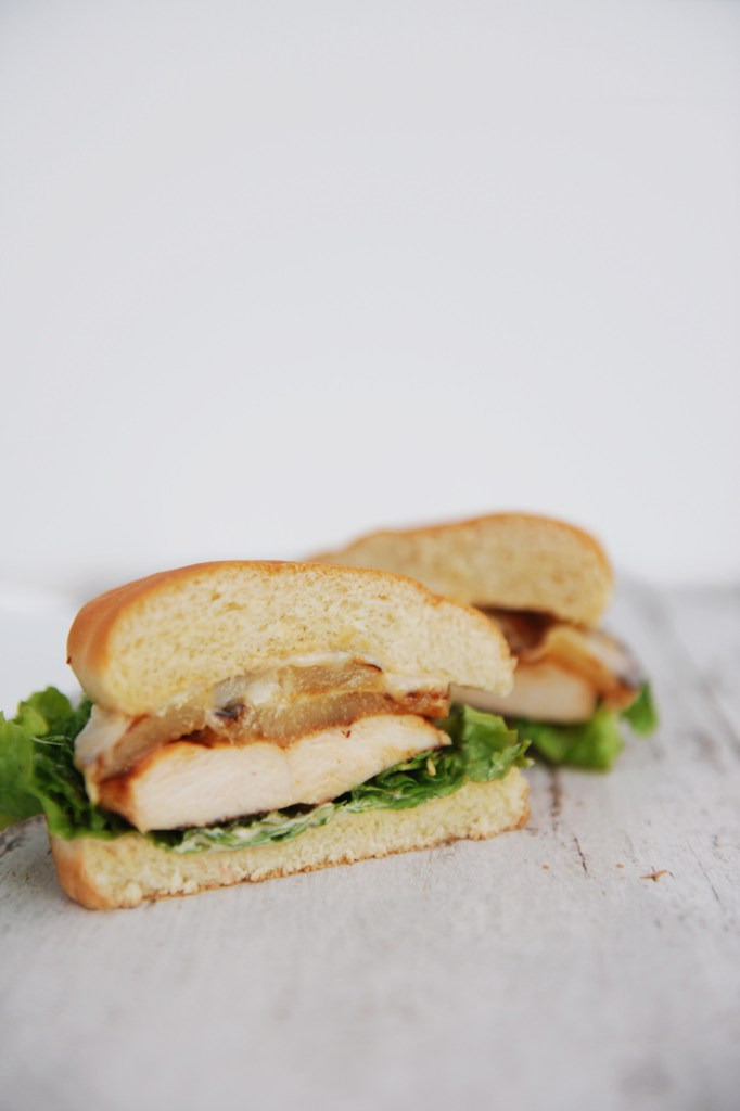 chicken teriyaki sandwich