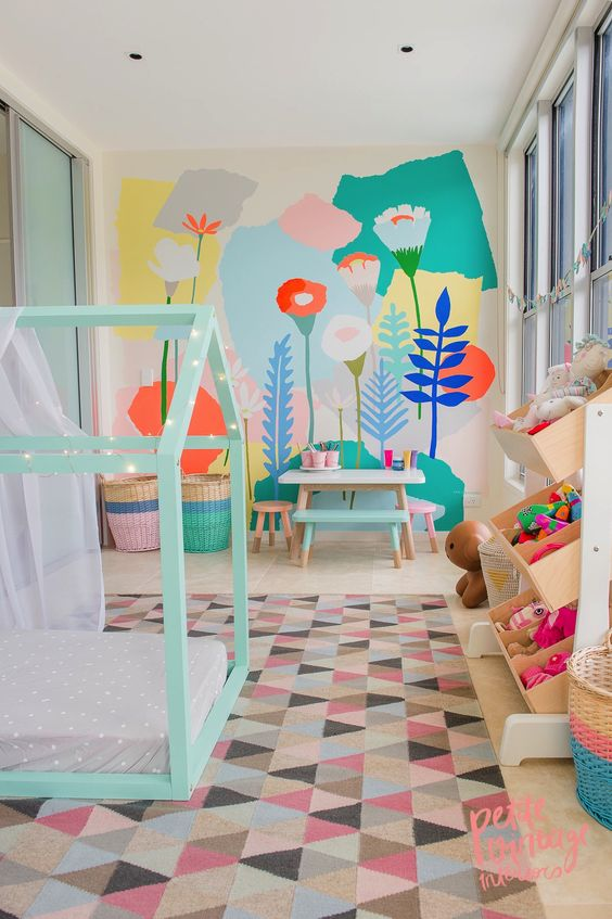 colorful kid room ideas