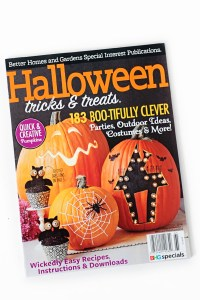 Better Homes and Gardens Halloween Magazine Feature