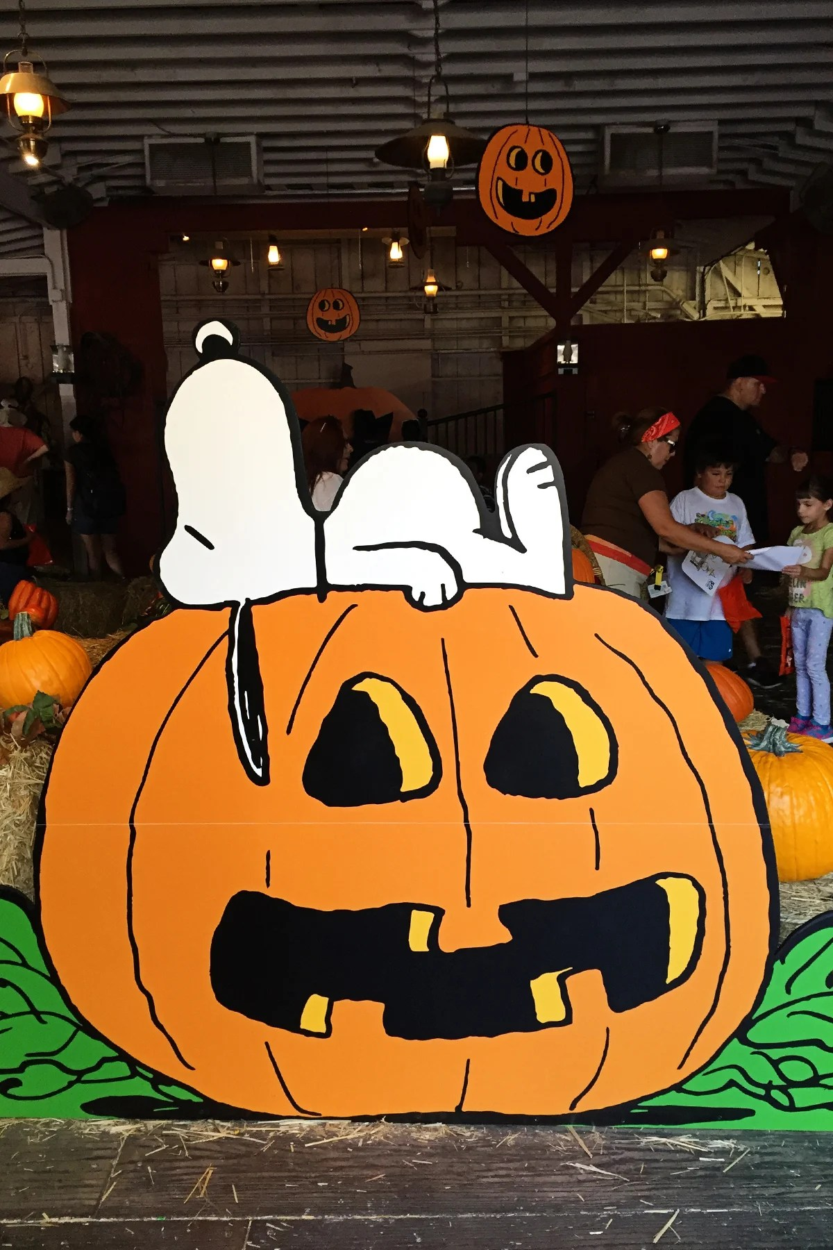 Family Fun for Halloween at Knott's Spooky Farm
