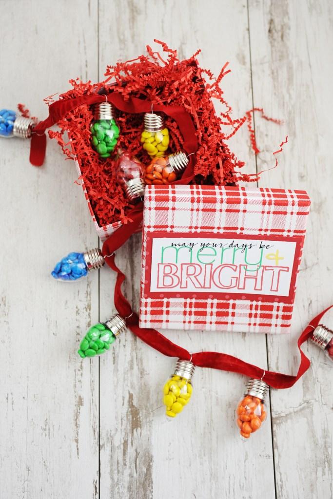 diy teacher christmas gift