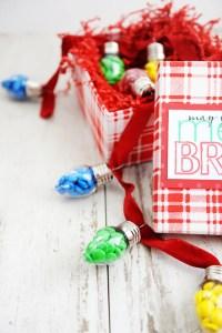 DIY Teacher Christmas Gift Idea and Free Printable