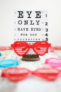 DIY Valentines : Eye Like You Valentine