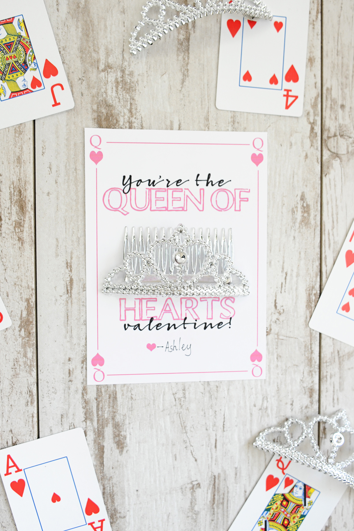Free Queen of Hearts Printables: DIY Valentine's Printables
