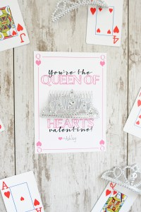 Queen of hearts valentine 1