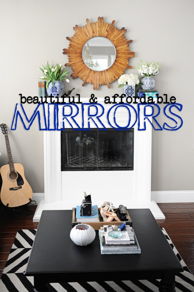 affordable wall mirrors