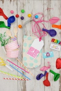Birthday in a Bag : A Cute DIY Birthday gift and Free Printable Birthday Tags