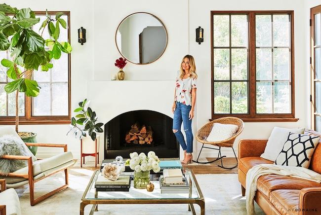 Lauren conrads home living room