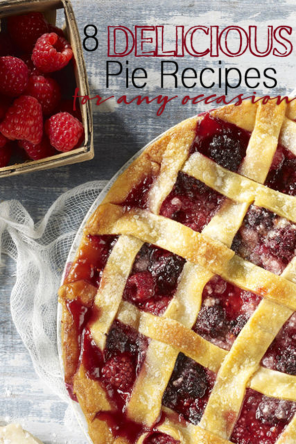 8 delicious pie recipes