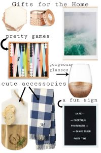 Fun Christmas Gifts for the Home Decor Lover and Hostess