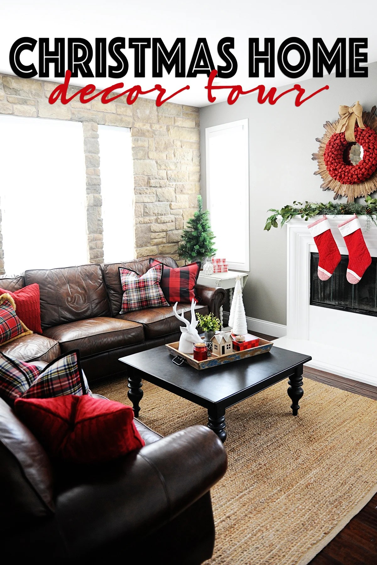 Christmas home decor tour