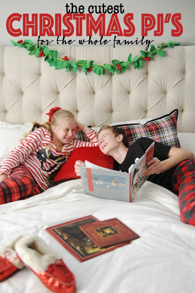 Cutest Christmas Pajamas for the Whole Family