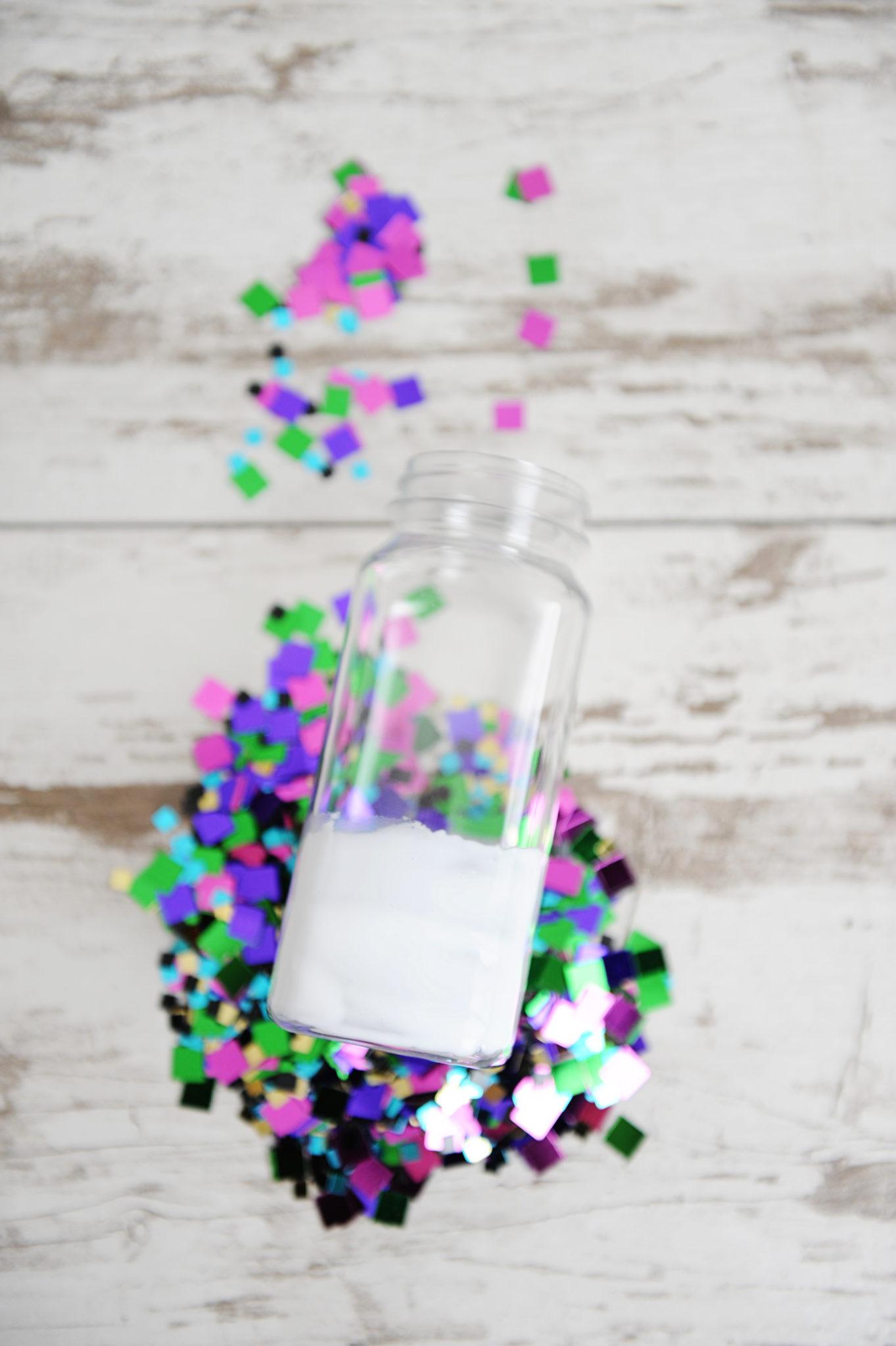 diy party decorations confetti party bottles