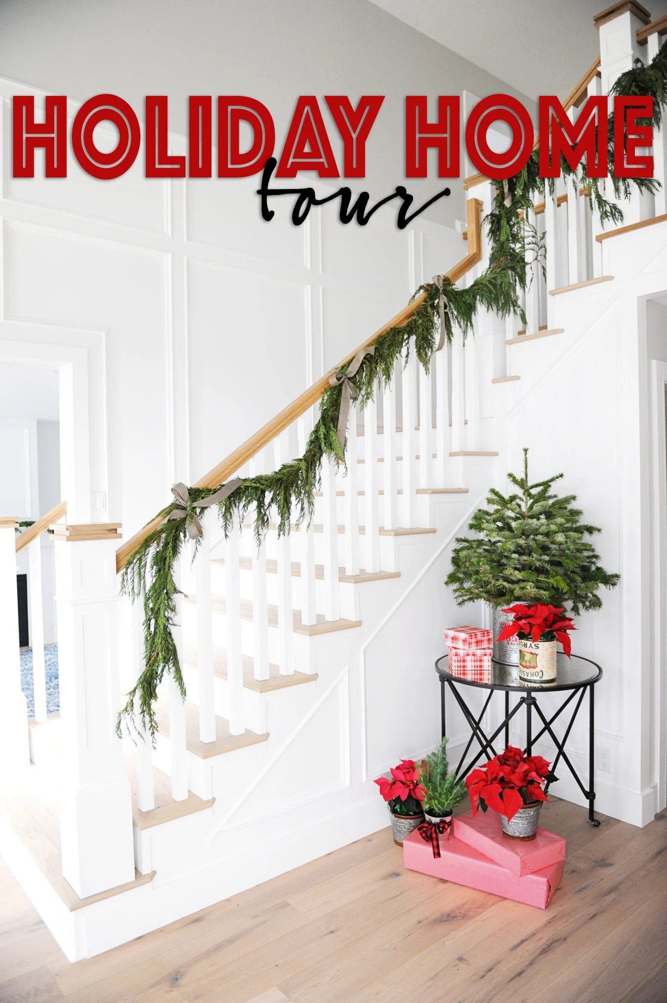holiday home decor tour