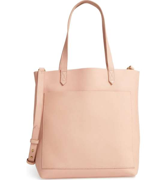Madewell pink tote