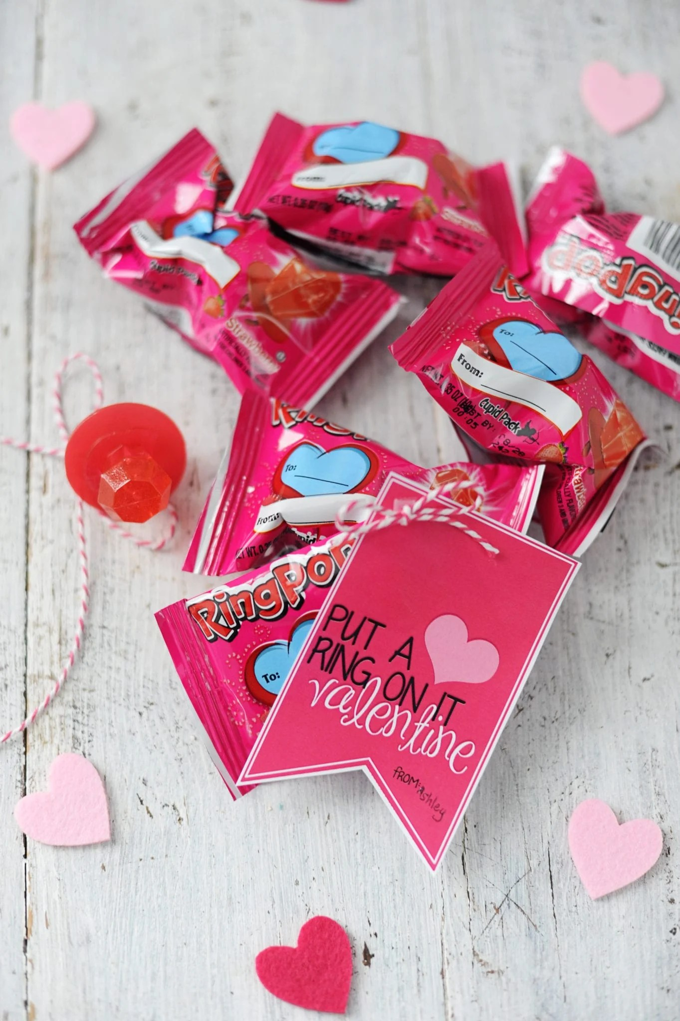 put a ring on it free printable valentine for kids and tweens