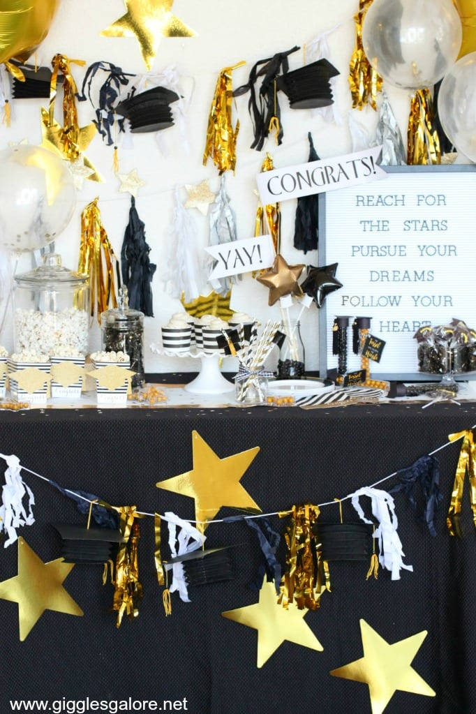 Graduation Theme Ideas: FUN High School Graduation Party Ideas & Decorations