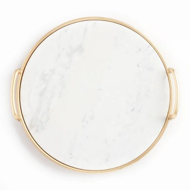Marble and gold tray2