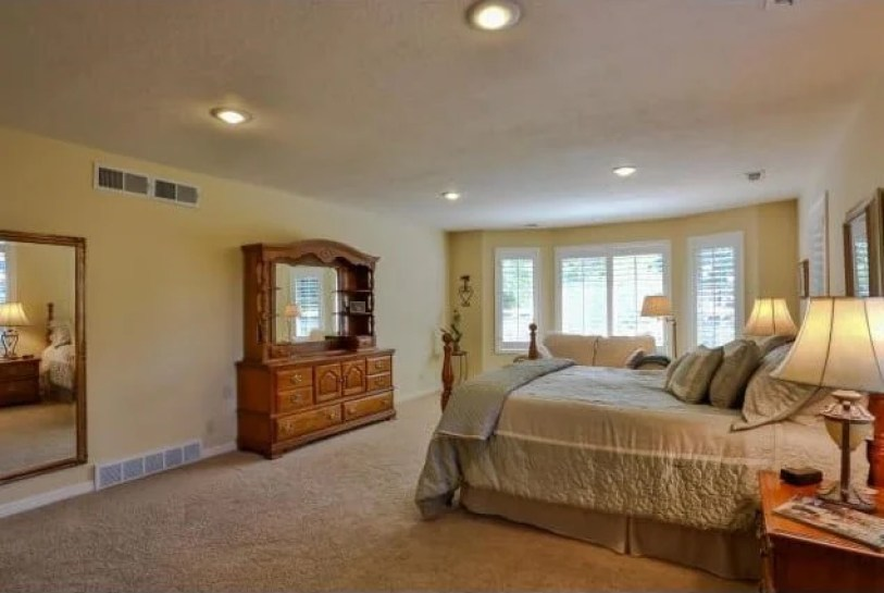 1980s master bedroom remodel before and after