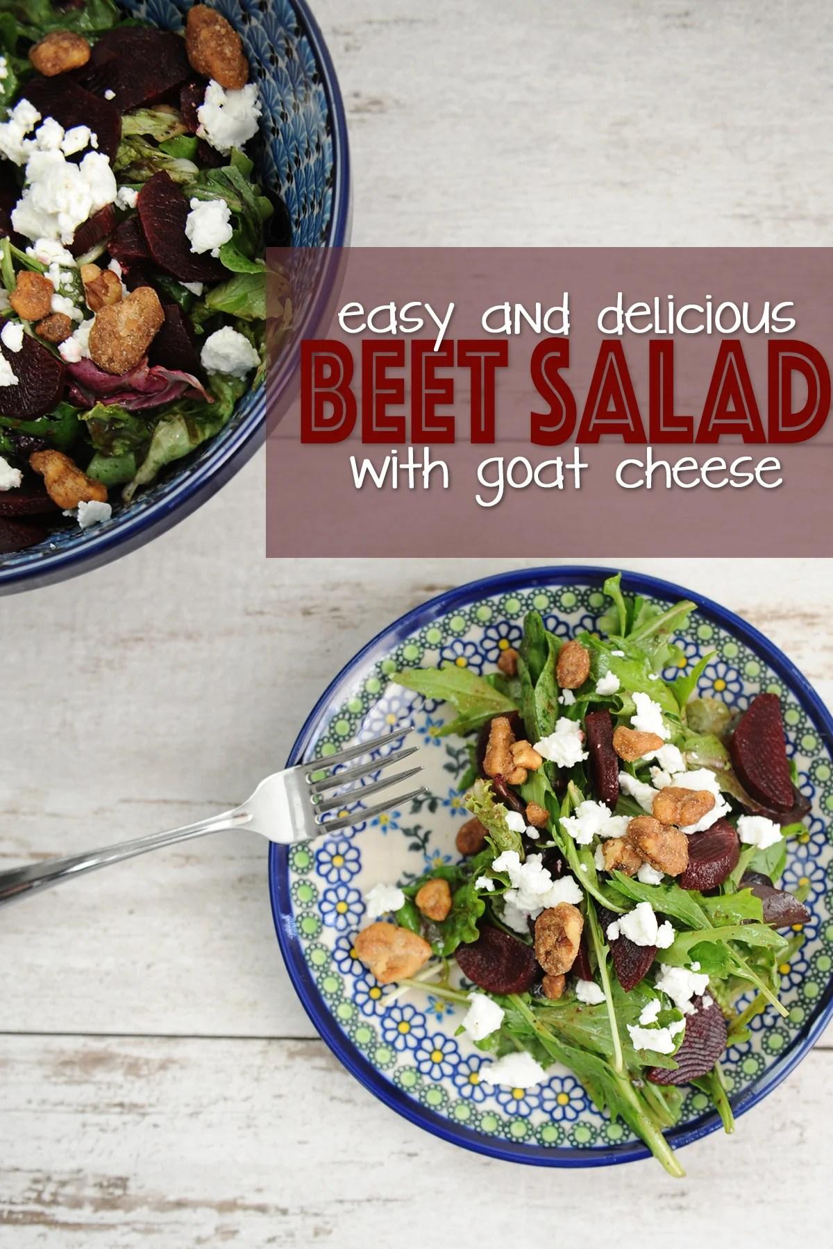 delicious beet salad recipe