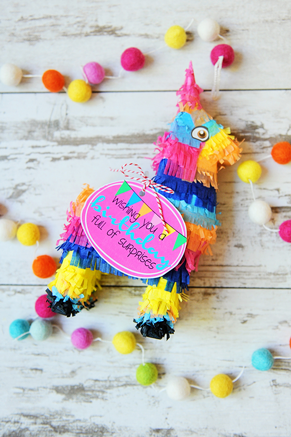 free printable birthday tags
