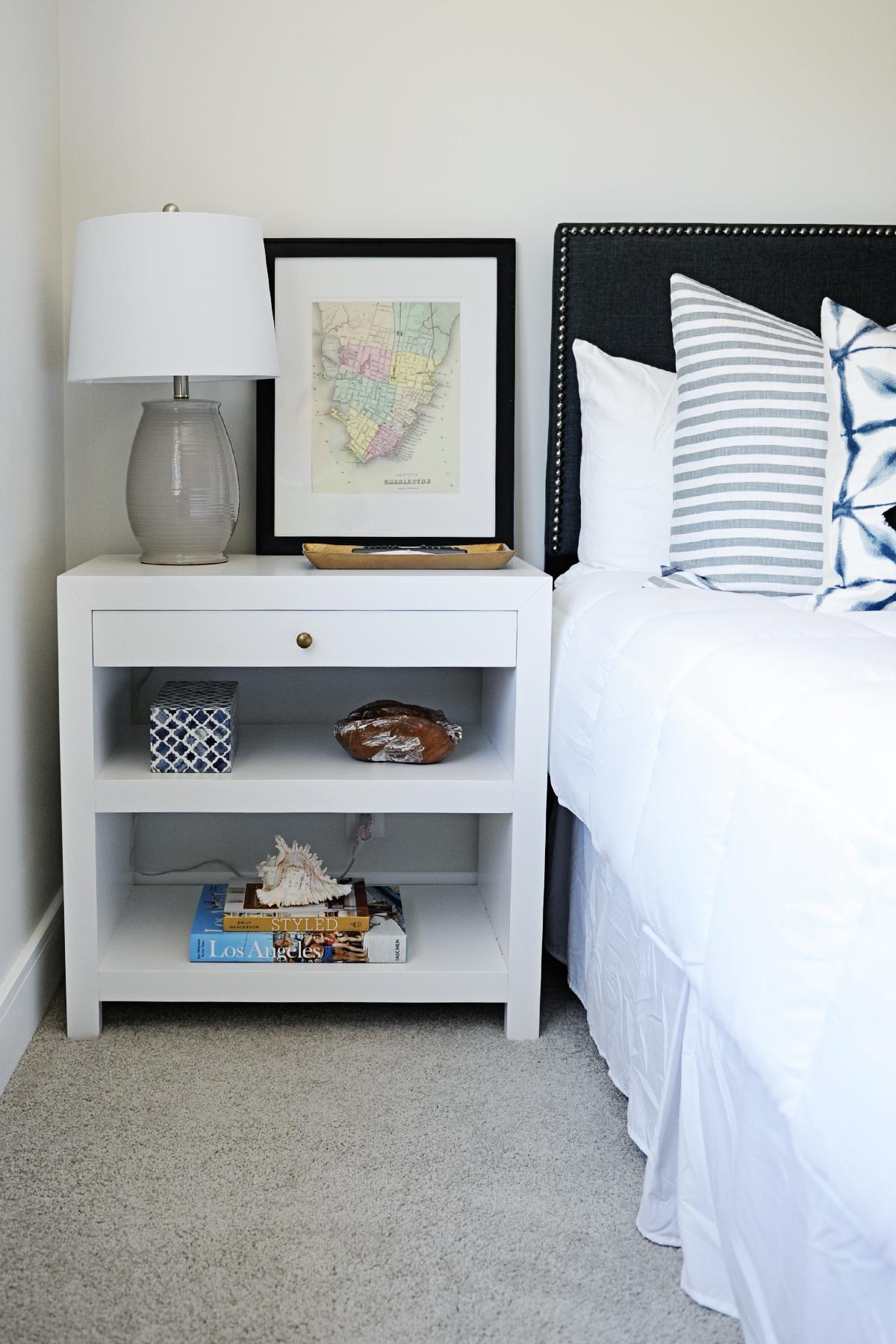 Guest bedroom sneak peek