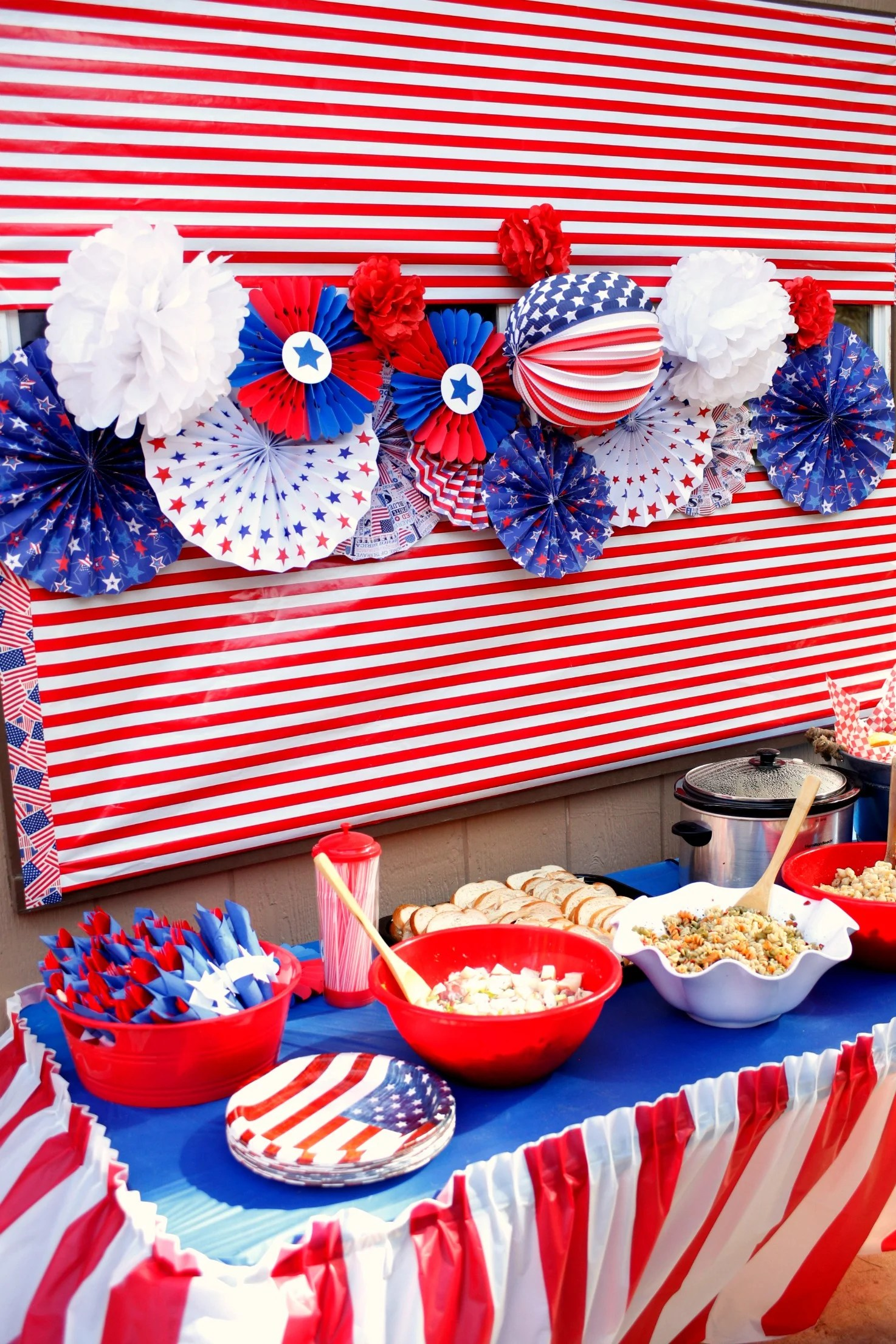 15 Awesome 4th Of July Party Ideas Pink Peppermint Design