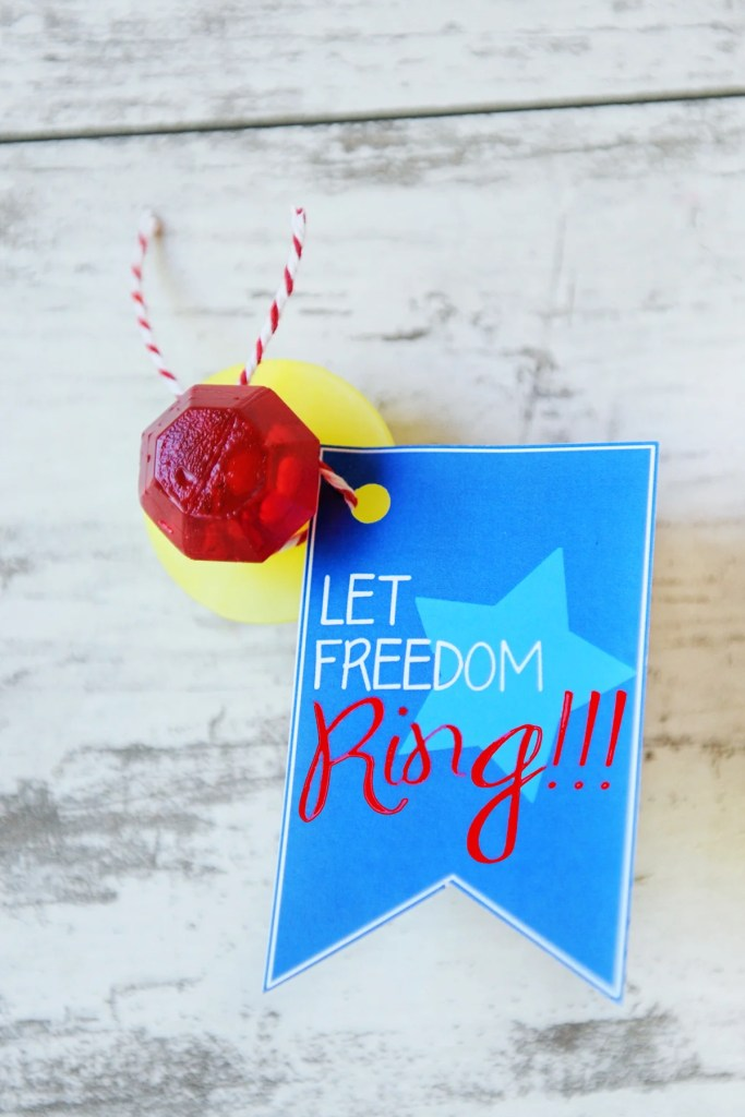 Let freedom ring ring pop printable