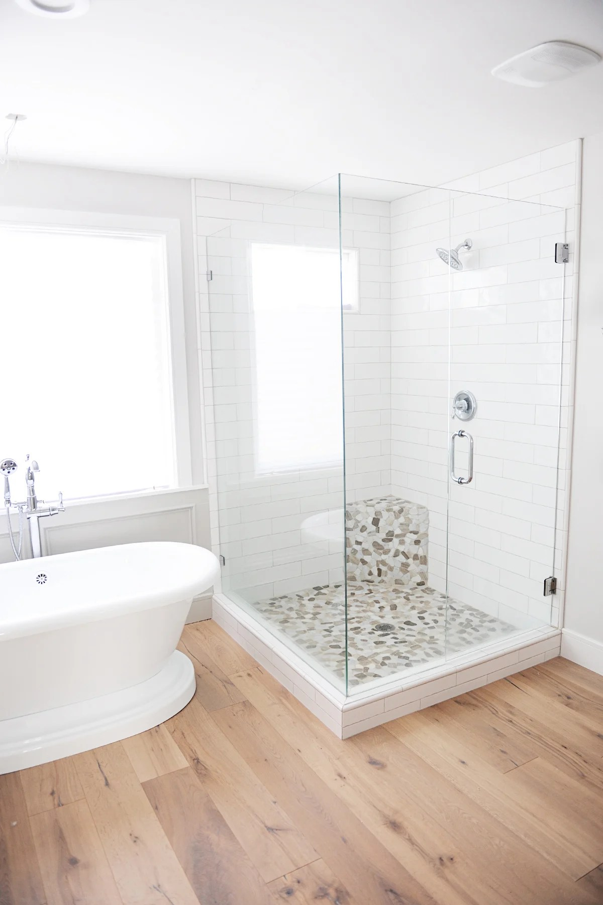 Master bathroom remodel photo gallery