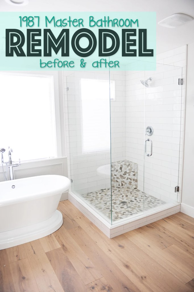 Master bathroom remodel pinterest