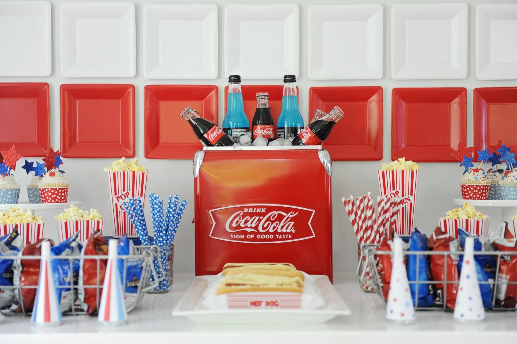 patriotic party decorations