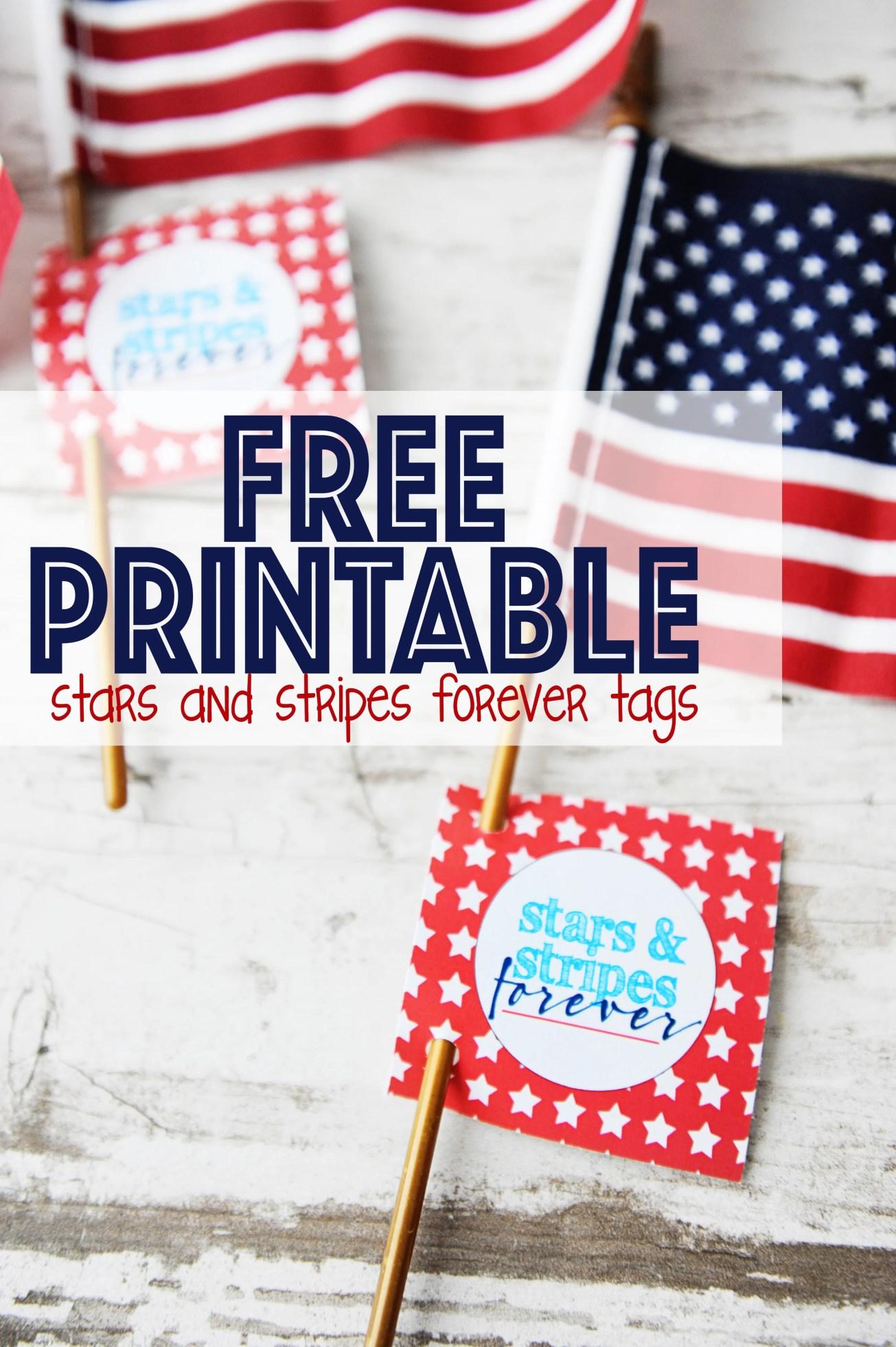 printable patriotic party tags