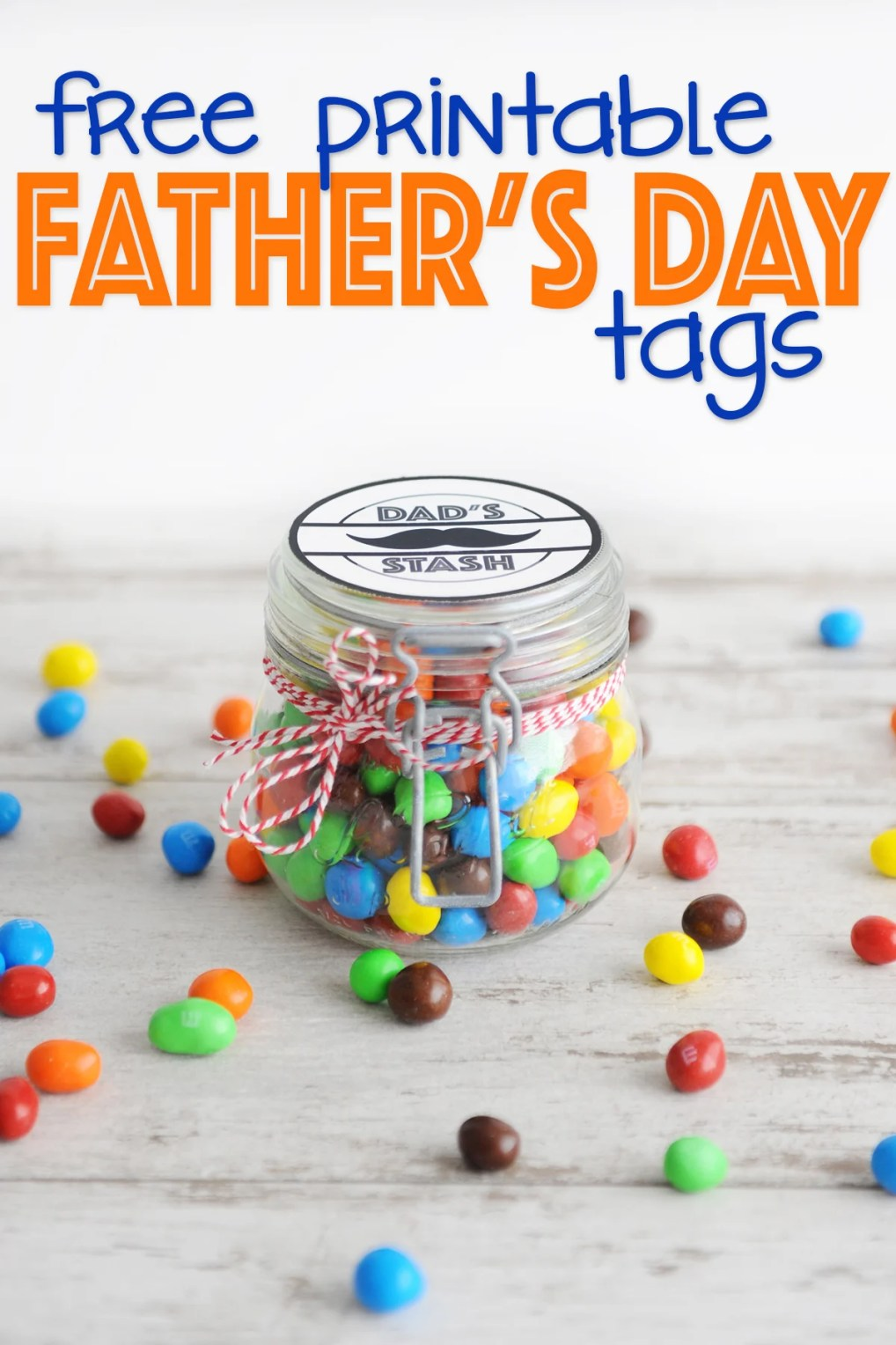 free father's day printable tags