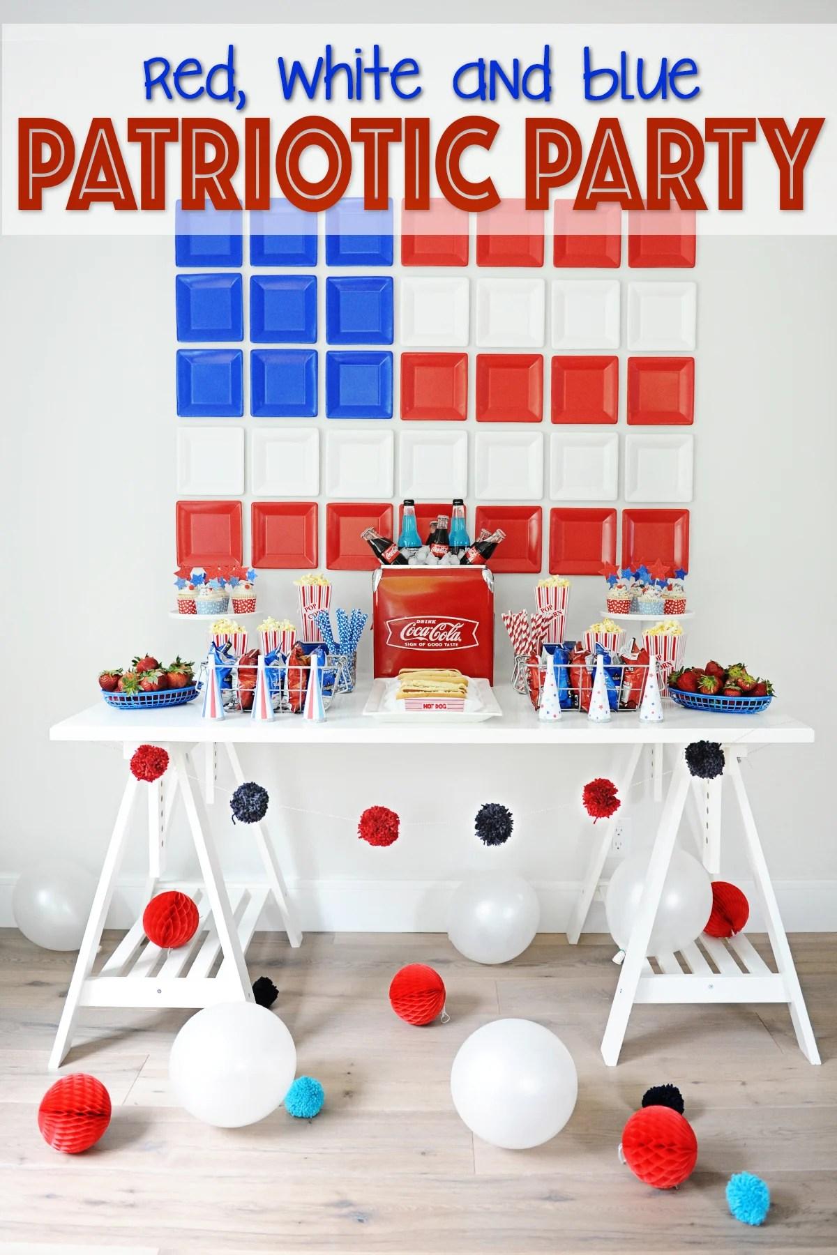 patriotic party decorating ideas