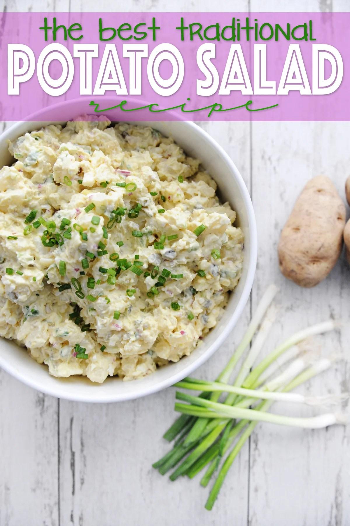 the best traditional potato salad recipe