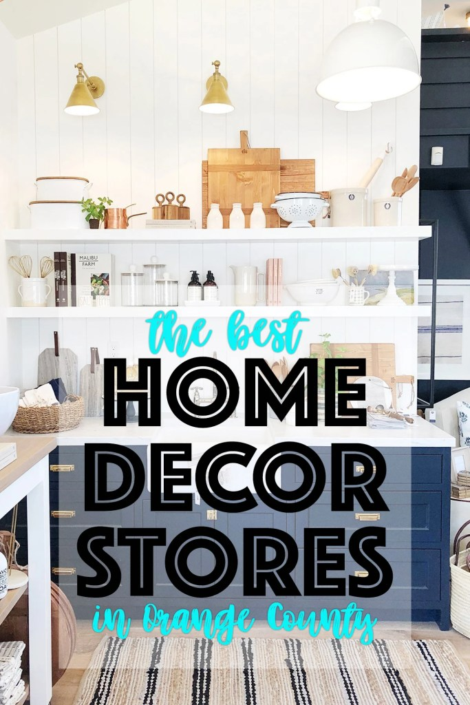 The best home decor stores in orange county