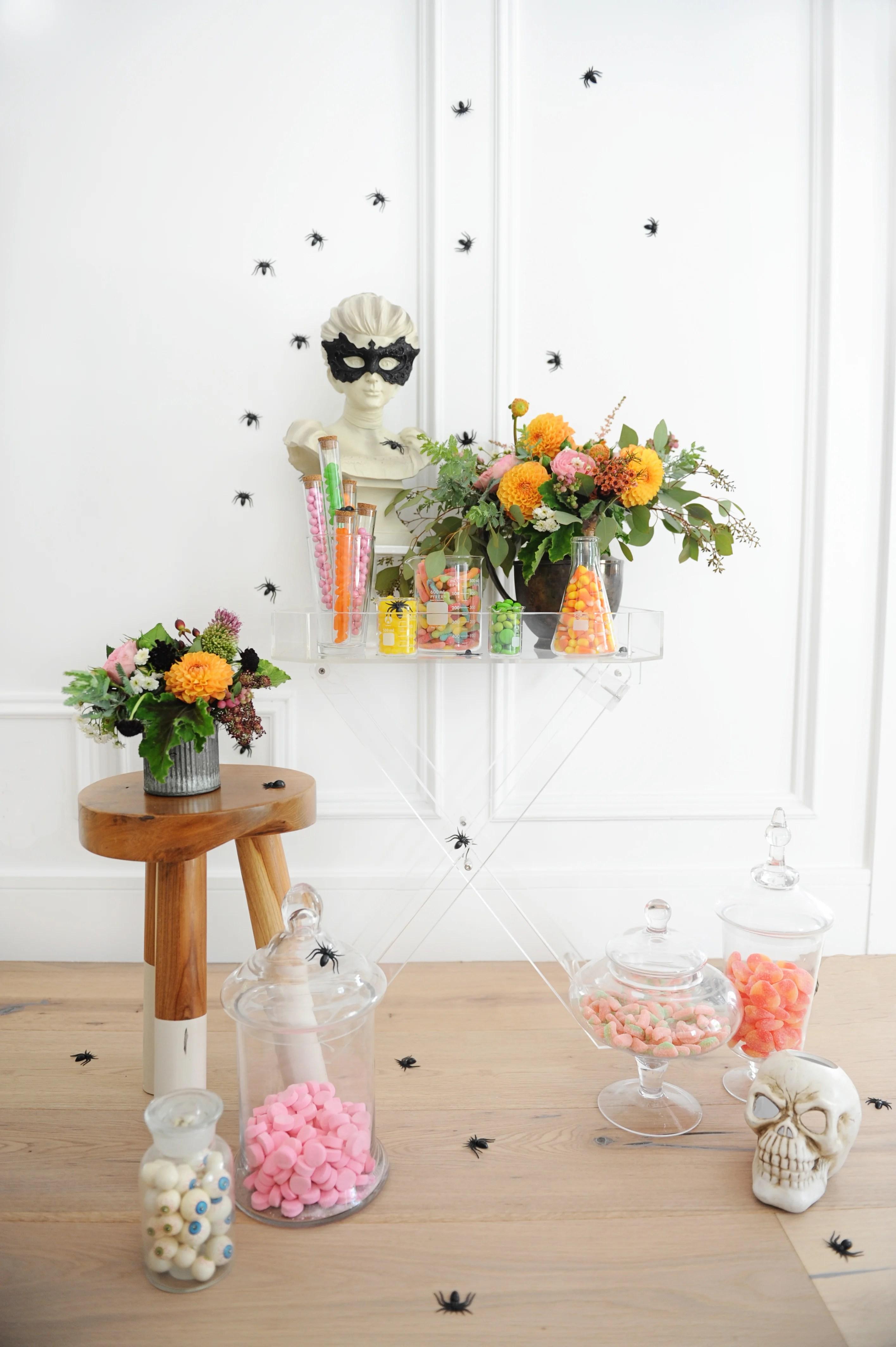 Sensational Colorful Halloween Party Candy Buffet Ideas Pink Download Free Architecture Designs Xerocsunscenecom