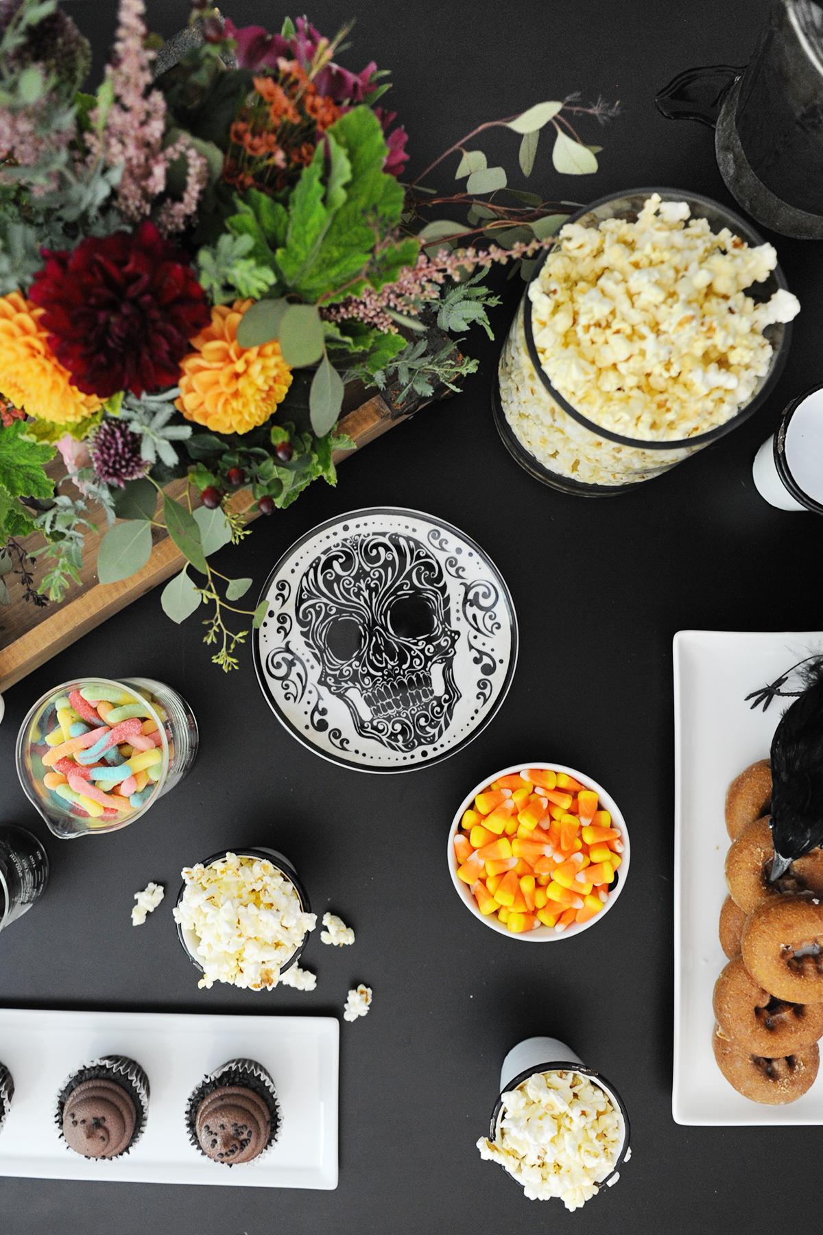 halloween movie night party ideas